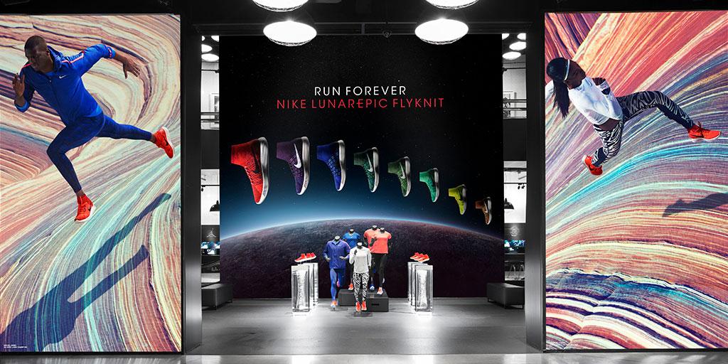 Image of large lightbox display